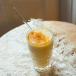 ginger turmeric banana healthy smoothie recipe-2